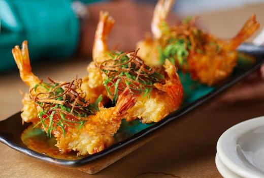 William vale cocount shrimp fried crispy