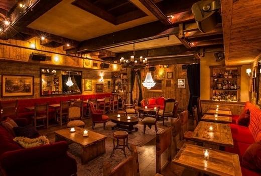 Carroll place dinner inside red lush