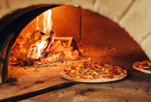 Carroll place party package pizza oven hot