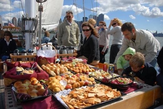 Manhattan by sail foods breads yum