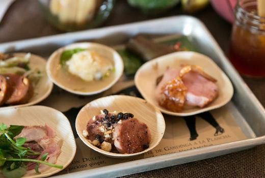 Cotes du rhone wine food fest meats foods