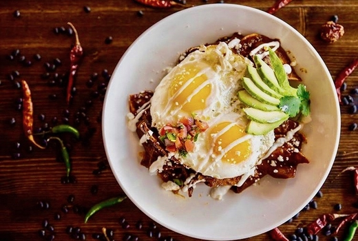 Villa cemita eggs avocado yum