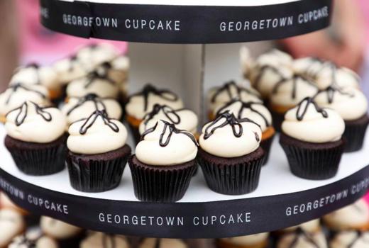 Evening in the garden georgetown cupcakes