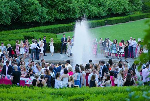 Central park evening back