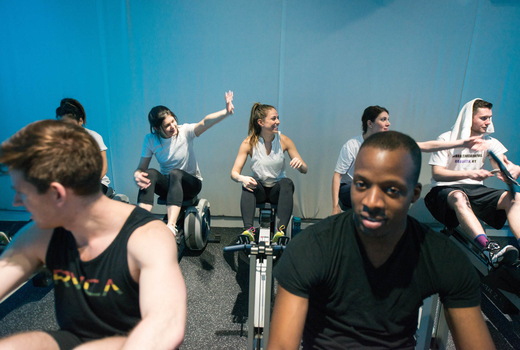 Current fitness inside bikes happy people nyc