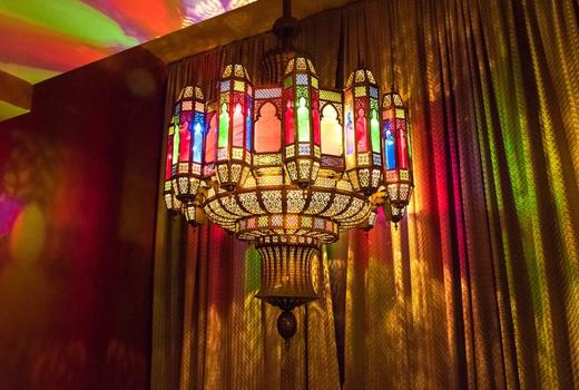 Le reve chandelier colorful