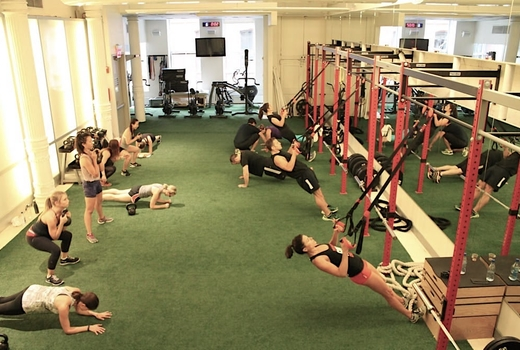 Drive495 studio turf trx workout1