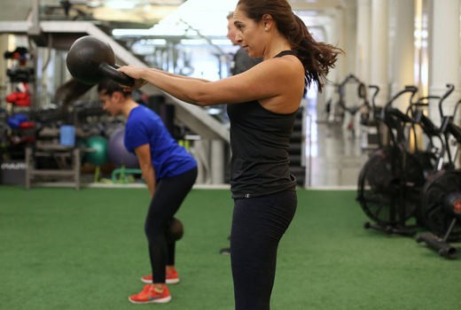 Drive495 woman getting fit strong