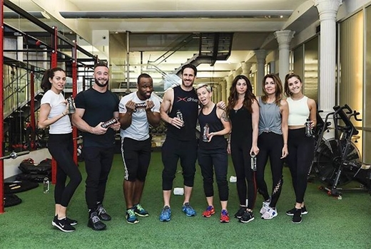 Drive495 group fitness classes after pose