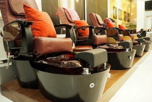 Eruan salon spa chairs pedicures