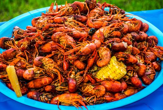 Allagash food 52 shrimp boil wild caught