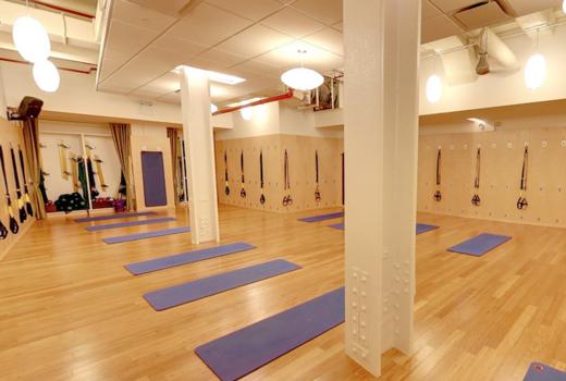 Yogaworks inside mats trx