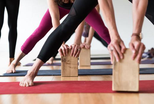 Yogaworks blocks align felxibility