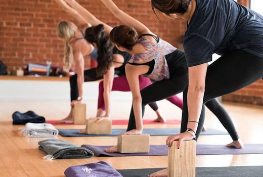 Yogaworks block mat twist