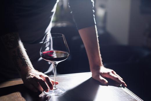 Mav soho red wine glass rich