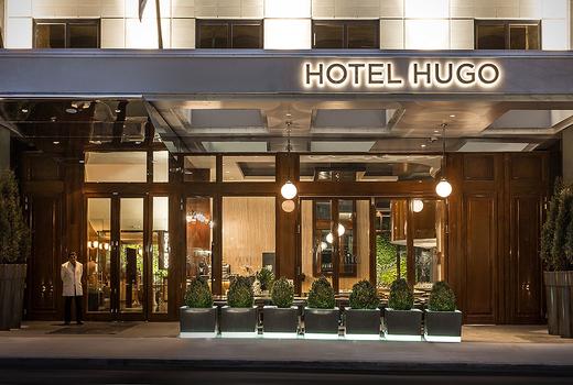 Hotel hugo entrance