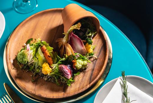Mav soho salad pot