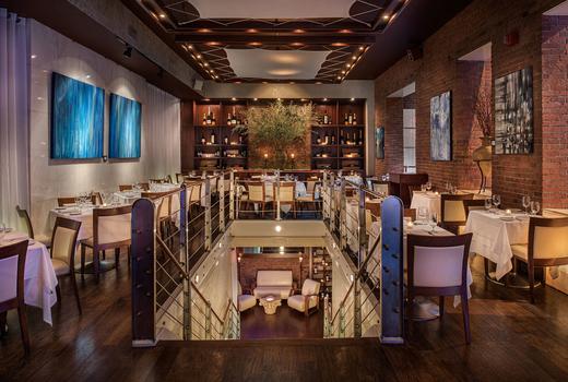 Thalassa main dining room