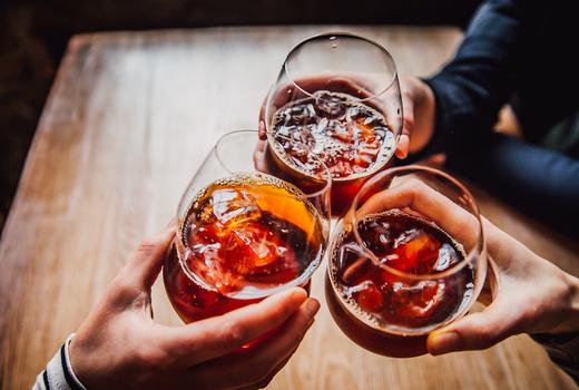 Balvanera sangria cheers drinks