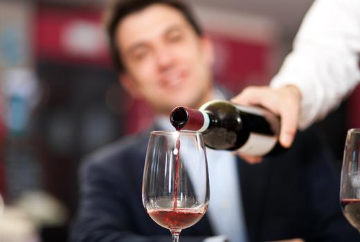 Benares indian bottle wine red