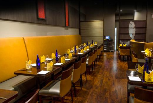 Benares inside tables yellow