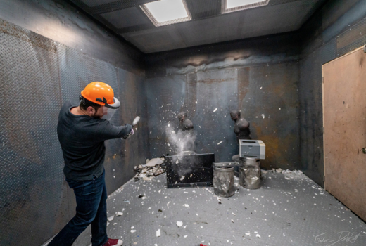 Break bar inside smash long