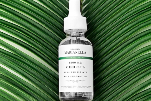 Marianella soap bar facial cbd serum oil