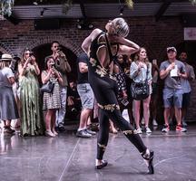 Secret summer 2019 woman dancing perform
