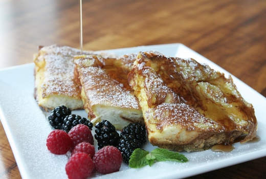 French toast berries win