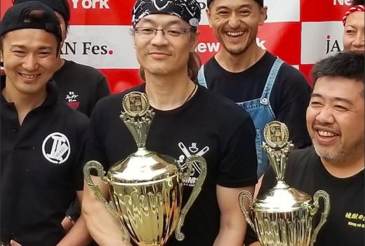 Shinka ramen winners award