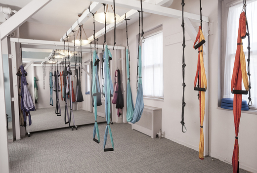 Pilates on fifth suspension class