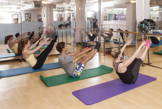 Pilates on fifth mat plus