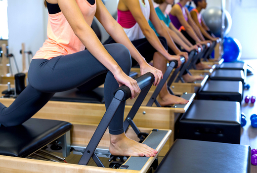 Pilates on fifth reformer machines workout nyc