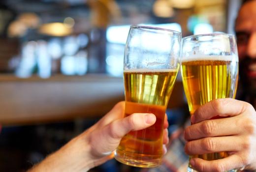 Parish dinner beers cheers brews