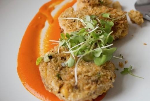 Parish dinner crab cakes sauce wow