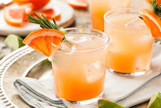 Parish paloma dinner drinks grapefruit