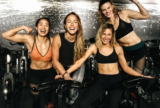Ryde cycle women instructors happy fit