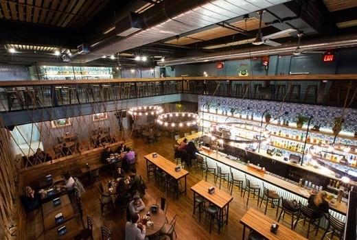 Habanero blues inside birds eye restaurant