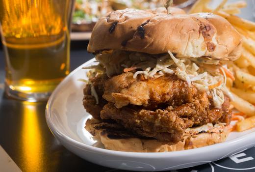 Tropical 128 chicken sandwich