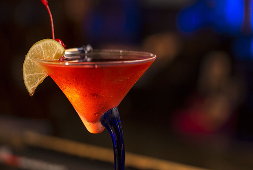 Tropical 128 drink cosmo cheers