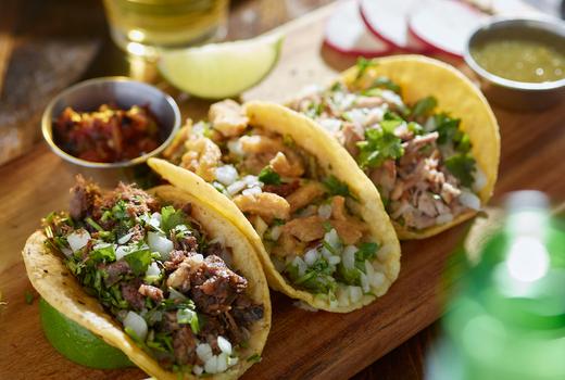 Tropical 128 tacos yum three cool