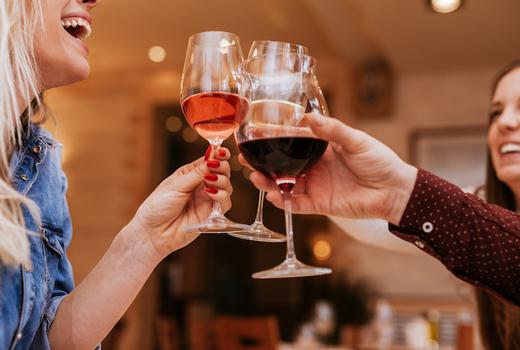 Tropical 128 cheers wine happy