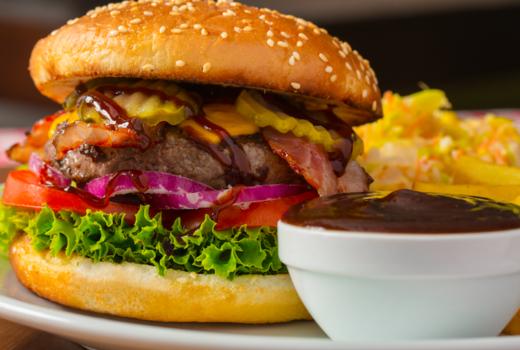 Tropical 128 cheeseburger eats
