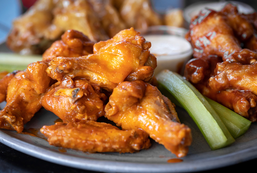 Tropical 128 chicken wings sauce love