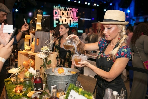 New york cocktail festival bartender drinks mixing cool