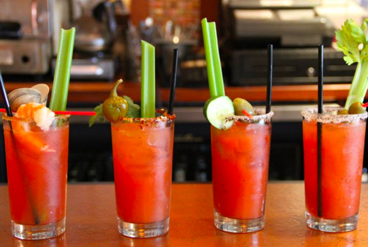 Bistango brunch bloody marys cocktails