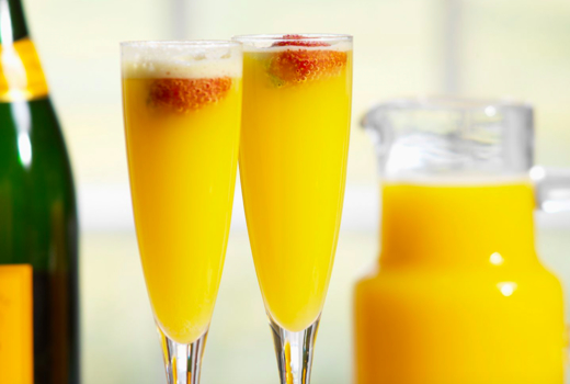Bistango brunch mimosa orange juice bubbly