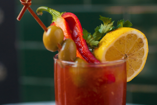 Highland nyc bloody mary cocktail drink