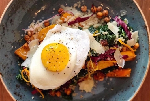 Highlands quinoa bowl