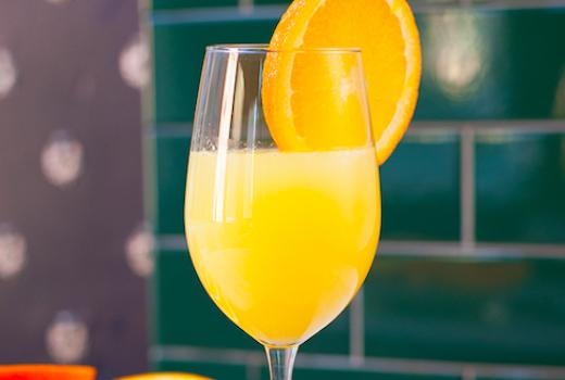 Highland nyc mimosa orange juice sips